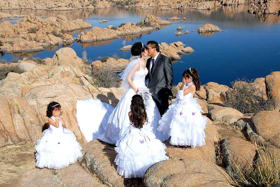 Mejor servicio de foto y video de Bodas y Quinces en Sedona AZ