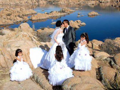 El mejor fotógrafo de bodas en Prescott Arizona